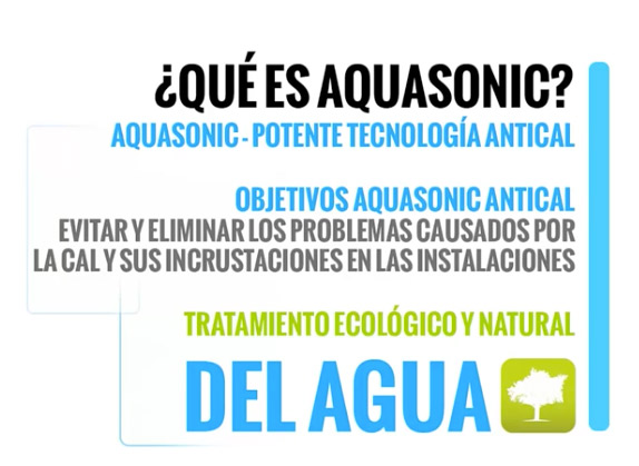 Que es Aquasonic sistema Antical