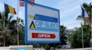 cap blanch camping antical