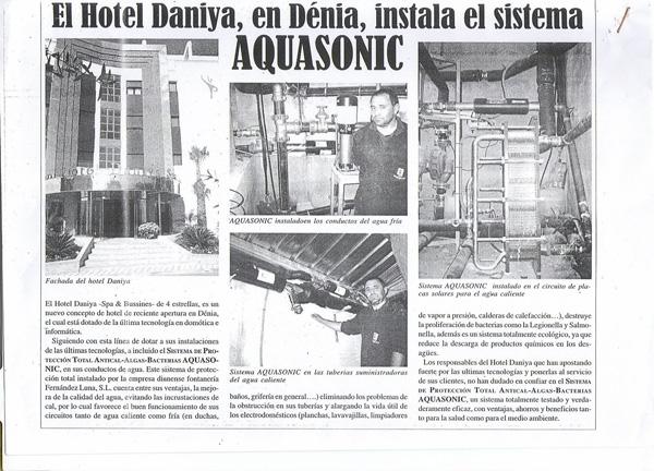 Nota de Prensa Hotel Daniya SPA Denia