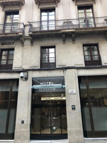 Instalacion Hotel Gotico Barcelona